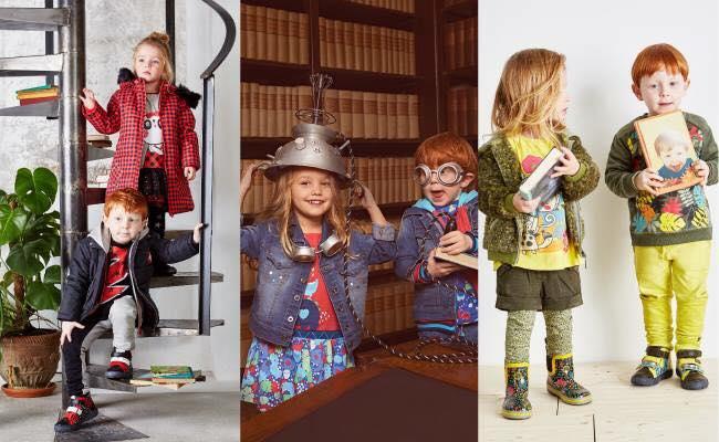 თამამი და ნათელი ფერები ბავშვის მოდური გარდერობისთვის