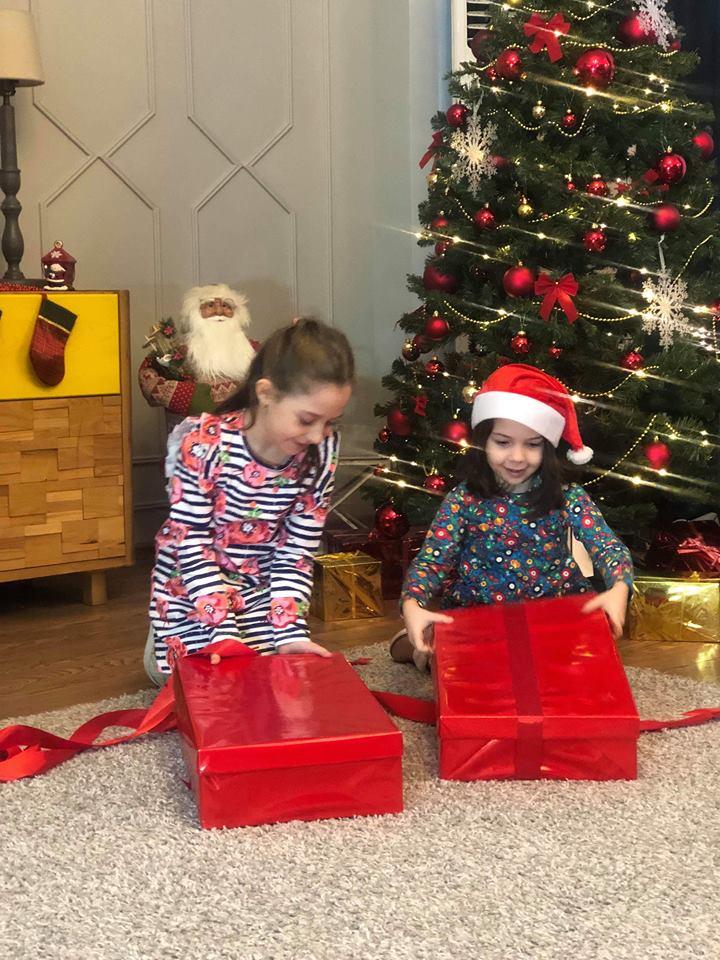 TUC TUC-ის  ბავშვები საახალწლო განწყობის შესაქმნელად ემზადებიან..