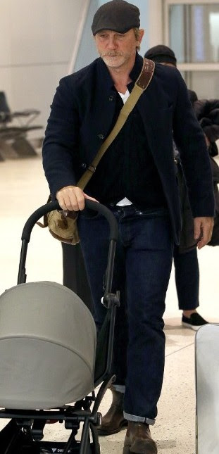 ჯეიმს ბონდის - დანიელ ქრეგის პაპარაცული ფოტო.. მსახიობმა ნამდვილად იცის რა არის საუკეთესო..