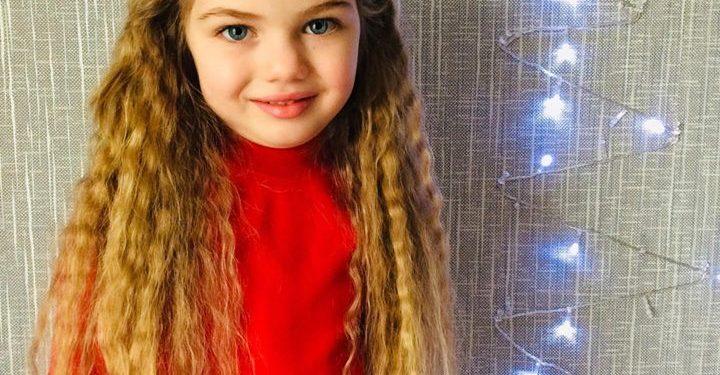 პატარა ანი, რომელმაც სილამაზით ქართველების საოცარ გარეგნობას კვლავ ხაზი გაუსვა..