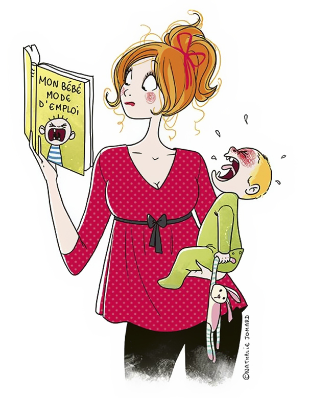 დედობა - ილუსტრაციები რომელიც საკუთარ თავს ამოგაცნობინებთ..