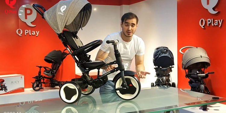 ეტლი-ველოსიპედის გერმანული ხელმისაწვდომი ბრენდი Q PLAY -შიკ ბებეს ქსელშია..