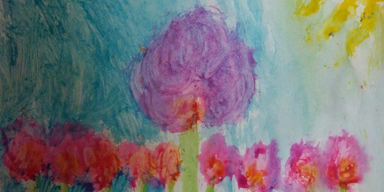 """6 წლის მარიამ ლორია""""დახატე შენი ფერადი სამყარო"""" TUC TUC- ის კონკურსი და ხალისიანი განწყობა..."""