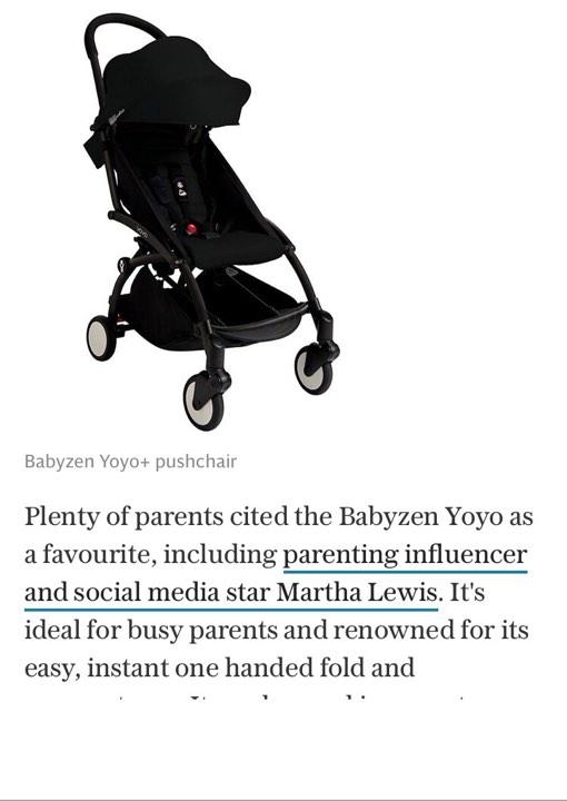 ჟურნალ THE TELEGRAPH-ში,  საუკეთესო საბავშვო ეტლები გამოქვეყნდა რომელიც მშობლების აზრით საუკეთესოა...
