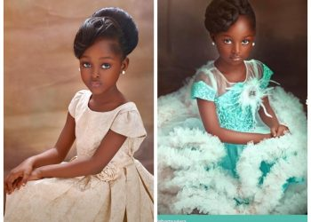 6 წლის ნიგერიელი მოდელი მოდის სამყაროს იპყრობს