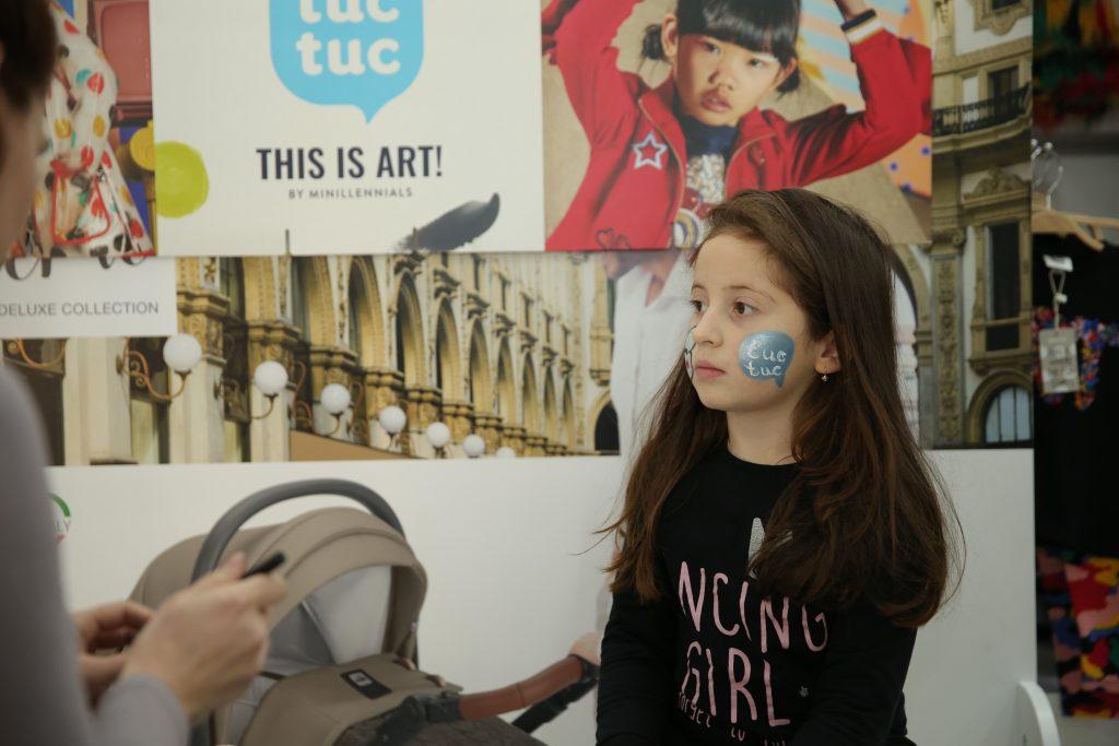 ART დღე პატარებისთვის, ყველაზე მოდური TUC TUC -ის ახალი კოლექციის პრეზენტაცია..