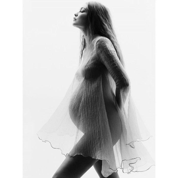 ჯიჯი ჰადიდი აქვეყნებს ორსულობის ფოტოებს განსხვავებულ და განსაცვიფრებელ პორტრეტში.